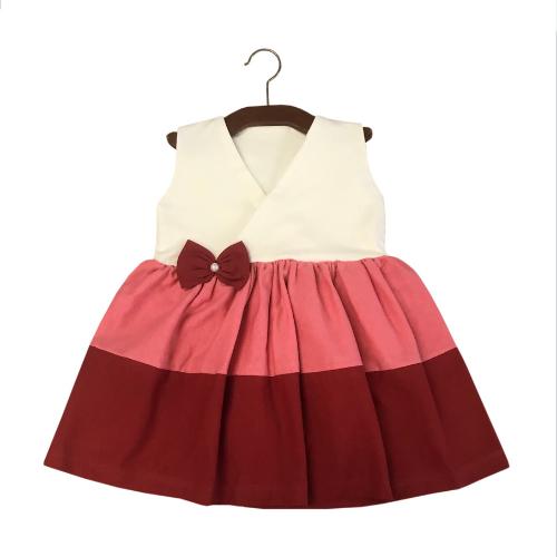Vestido Lacinho Vermelho