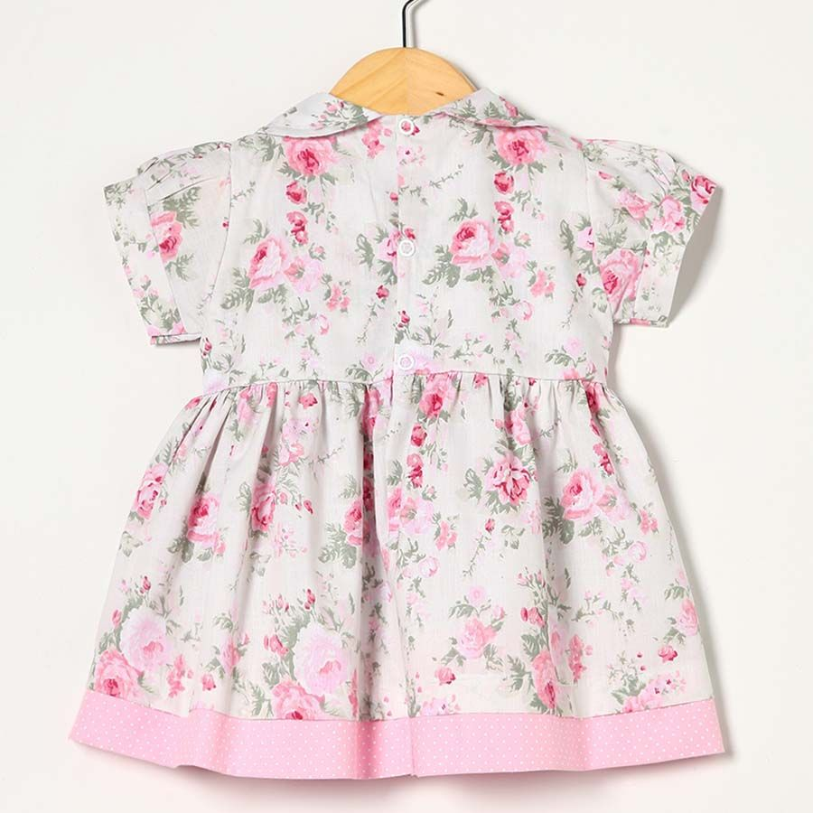 Vestido Rosa BB  - Toca do Bebê
