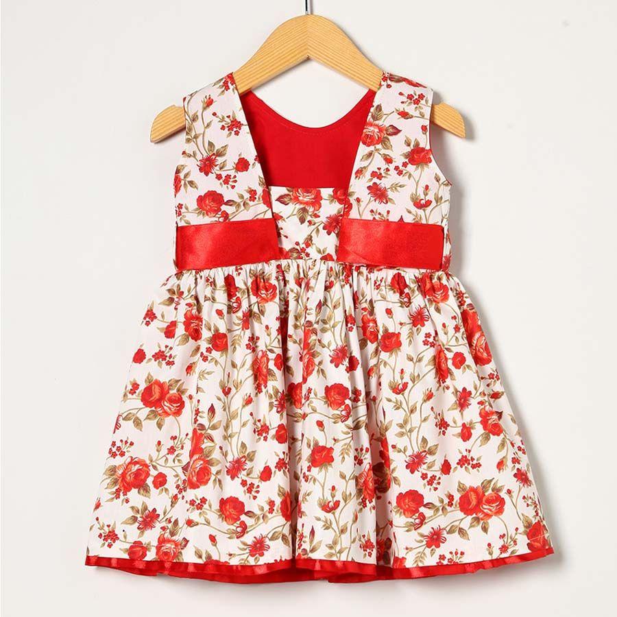 Vestido Vermelho  - Toca do Bebê