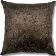 Capa de Almofada Sued Marrom 45x45cm