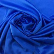 Tecido Cetim Azul Royal 3m de Largura