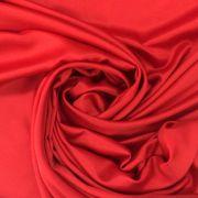 Tecido Cetim Vermelho 3m de Largura