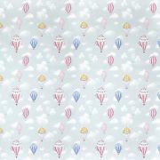 Tecido de Parede Kids Baloon - 1,44m de Largura