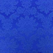 Tecido Jacquard Azul Royal Medalhão 2.80mde Largura