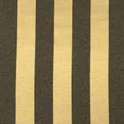 Tecido Jacquard Preto com Dourado Listrado 2.80m de Largura