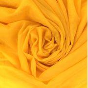 Tecido Voal Amarelo 3m de Largura