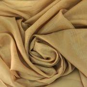 Tecido Voal Dourado 3m de Largura