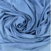 Tecido Voal Azul Acinzentado 3m de Largura