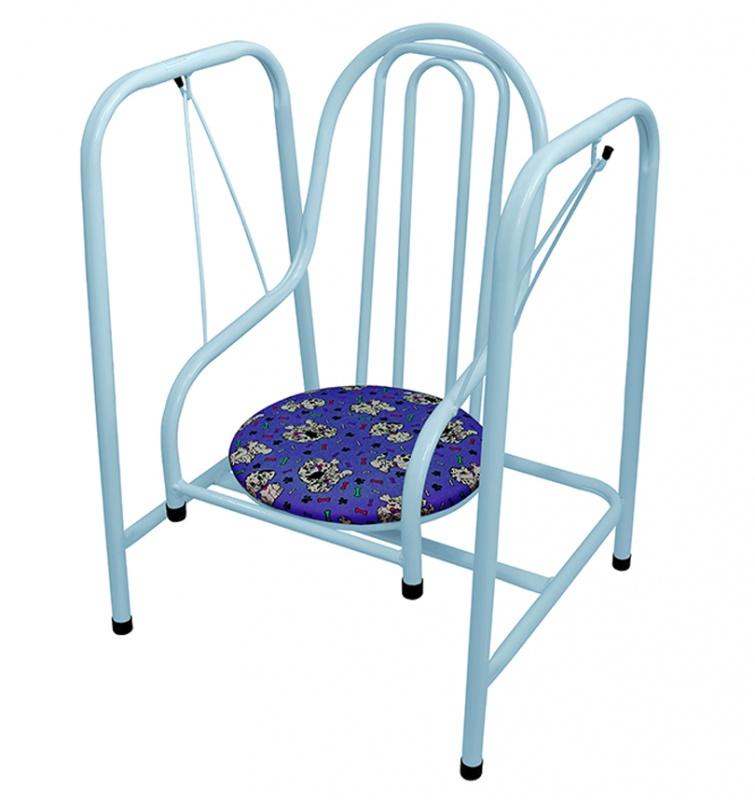 Balanço Luxo Infantil - Super Seguro Azul