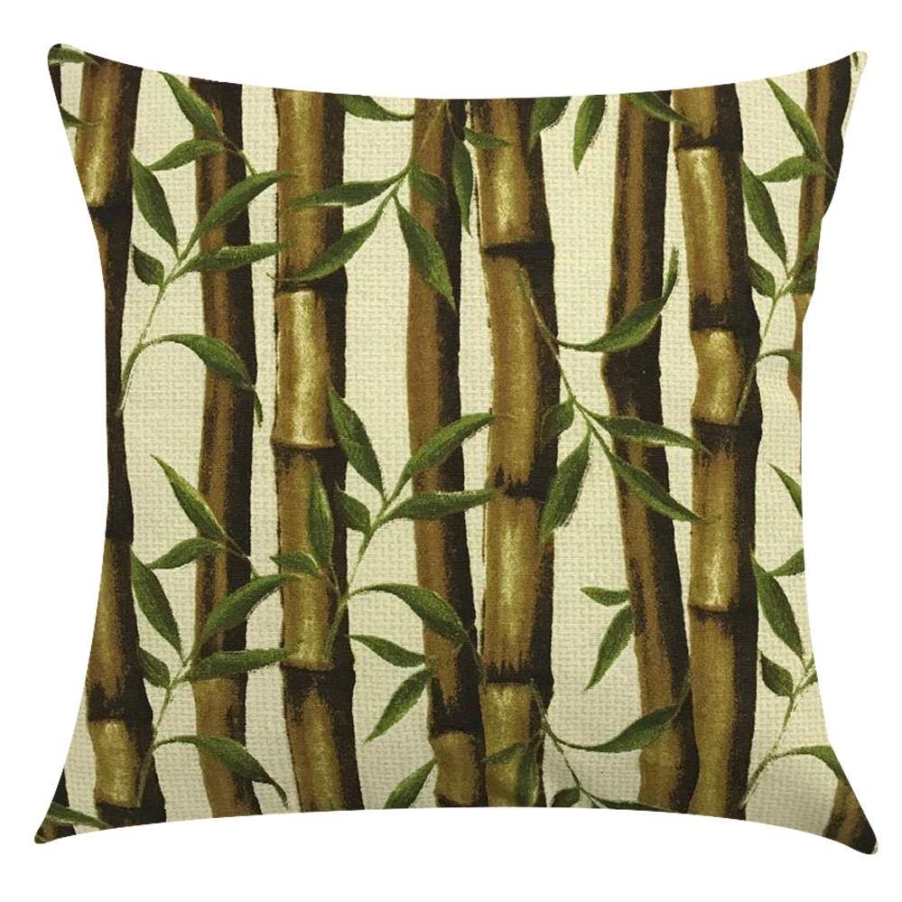 Capa de Almofada Impermeável Acqua Linea Bambú  45x45cm