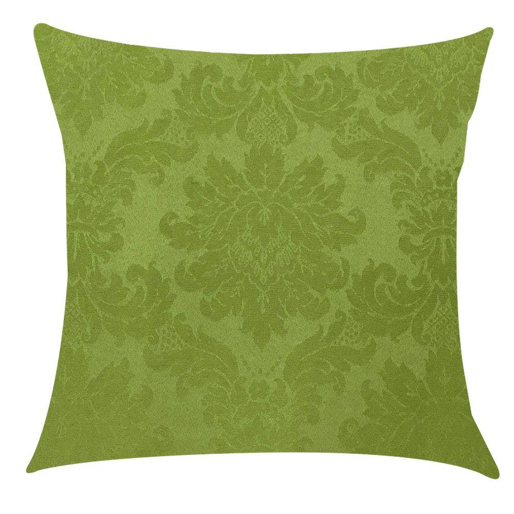 Capa de Almofada Jacquard Verde Pistache 45x45cm