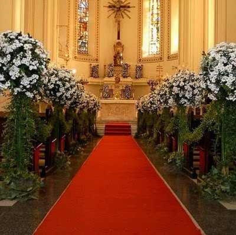 Passadeira Vermelha de Noiva para Casamento
