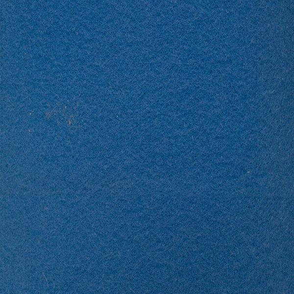 Carpete Eventos Azul Bic 3mm - 2m de Largura