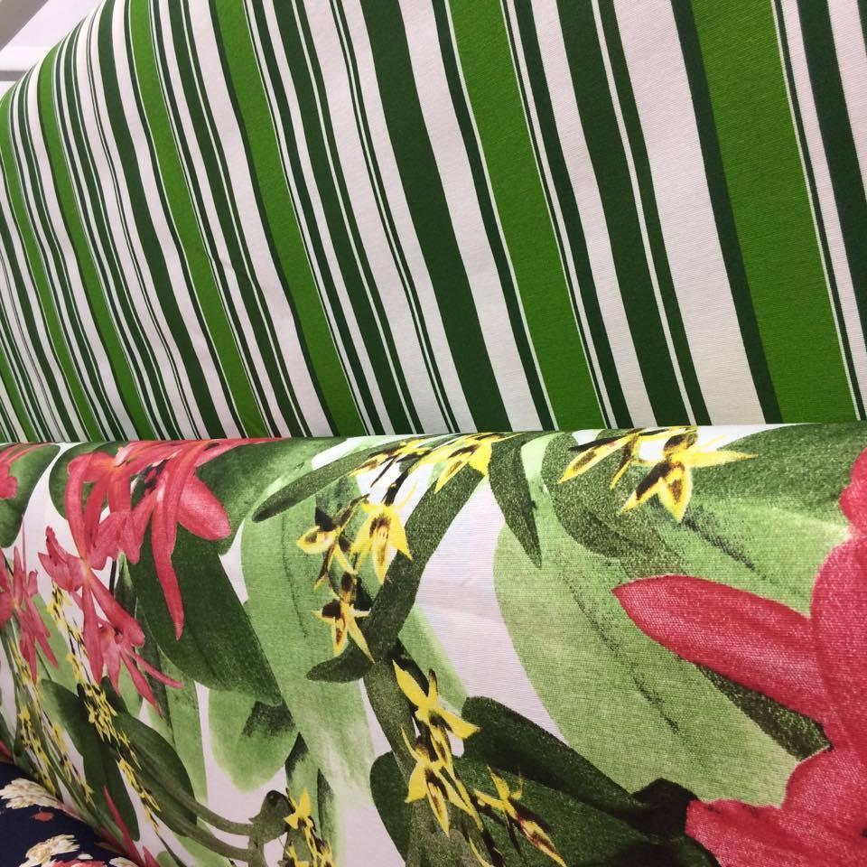 Tecido Impermeável Acqua Linea Juruá Verde 1.40m de Largura