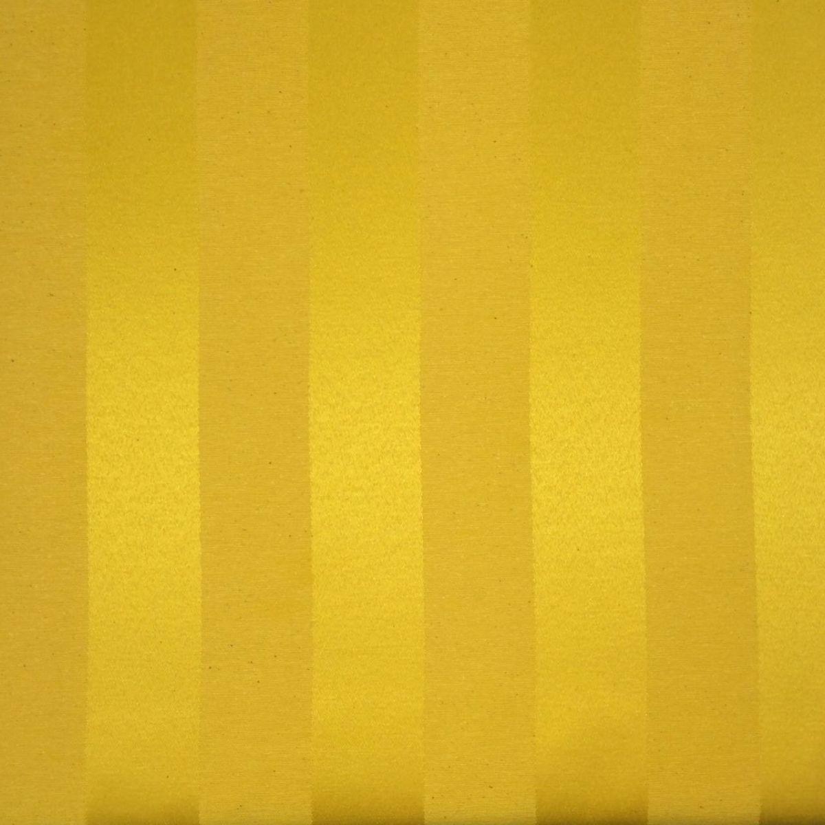 Tecido Jacquard Amarelo Ouro Listrado 2.80 de Largura