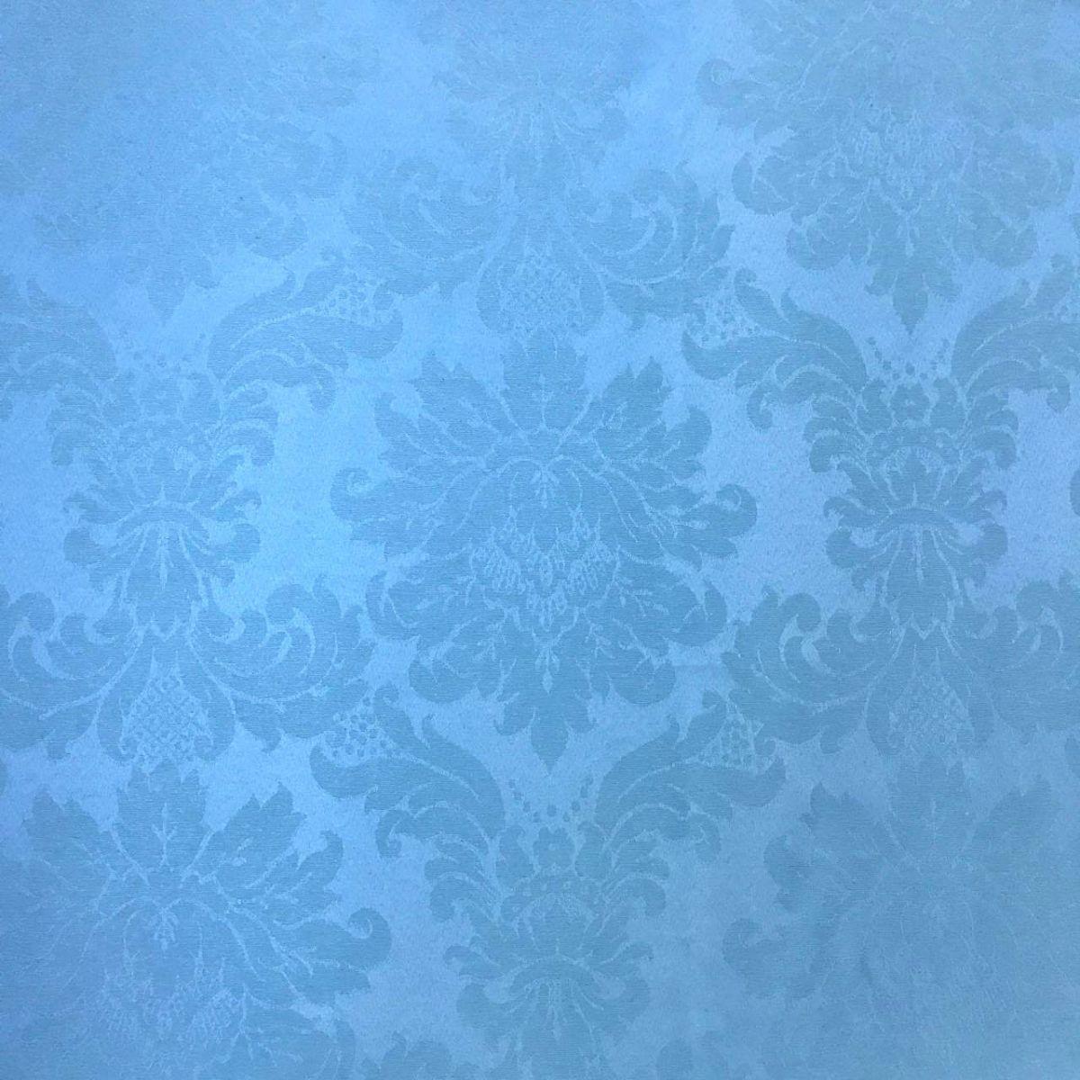 aca57a8af6557 Tecido Jacquard Azul Bebê Medalhão 2.80m de Largura