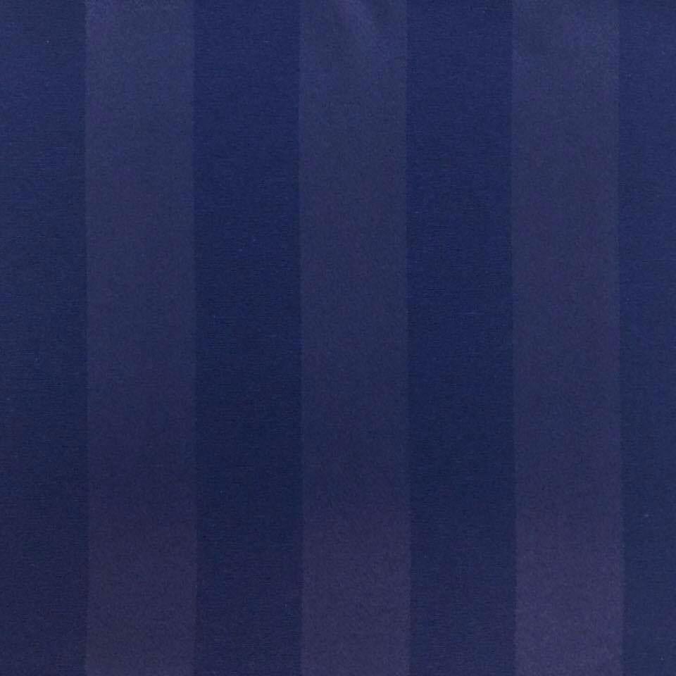 Tecido Jacquard Azul Marinho Listrado 2.80m de Largura