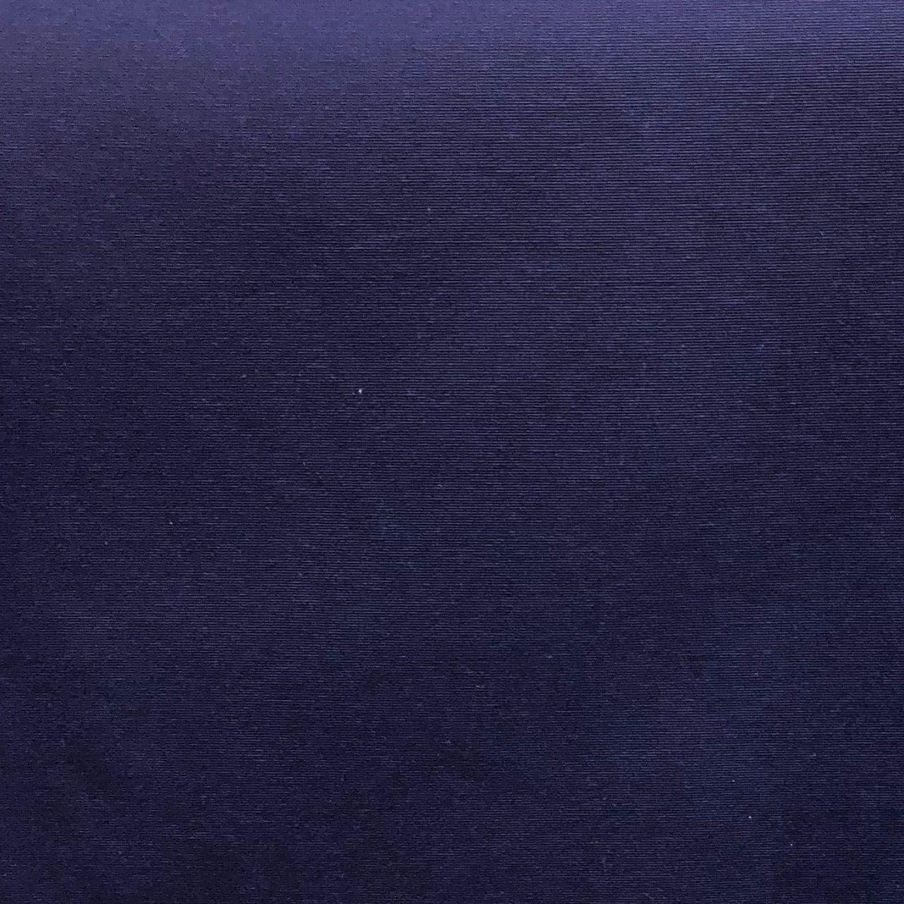Tecido Jacquard Liso Azul Marinho - 1.40m de Largura