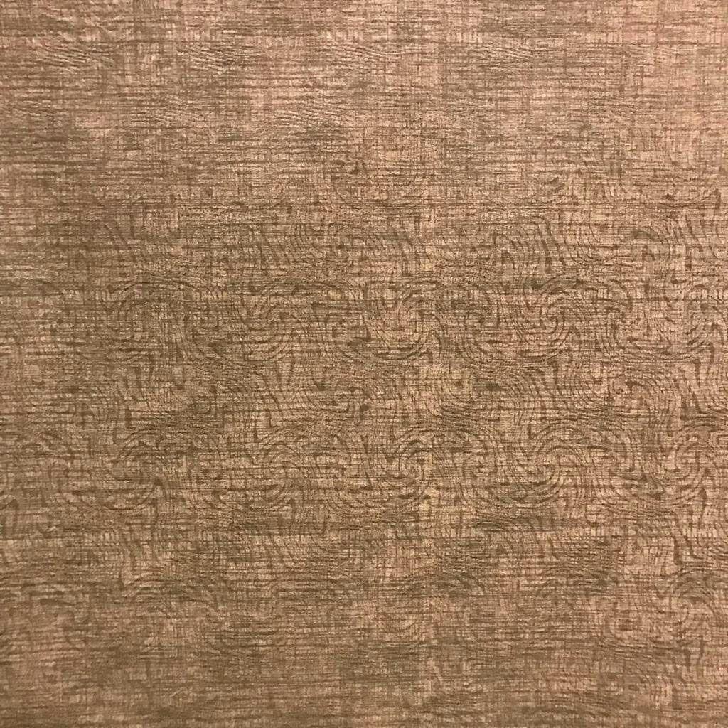 Tecido Jacquard Liso Marrom - 1.40m de Largura