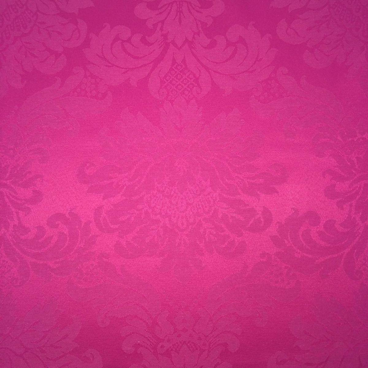 Tecido Jacquard Pink Medalhão 2.80m de Largura