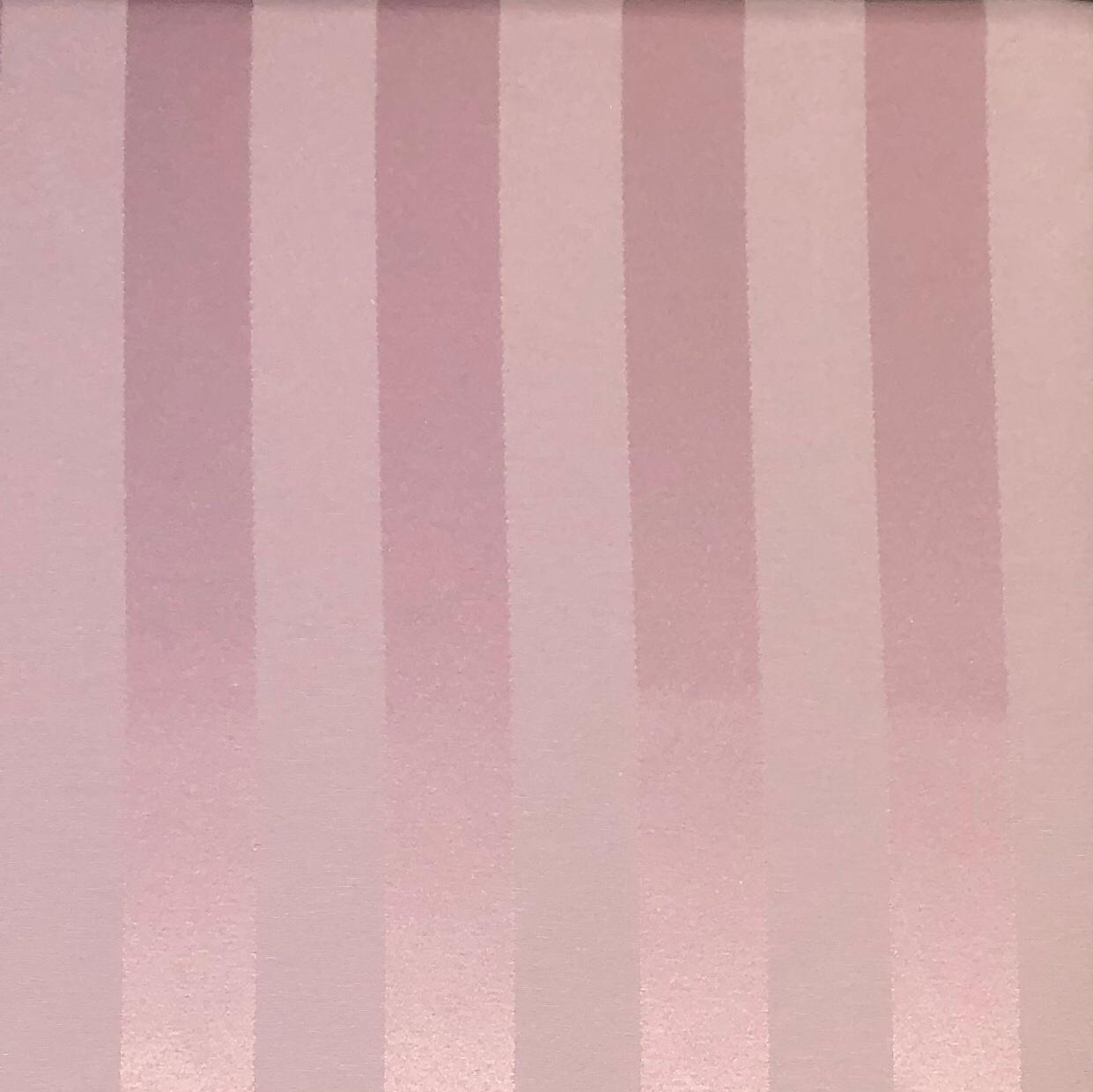 Tecido Jacquard Rosê Listrado 2.80m de Largura