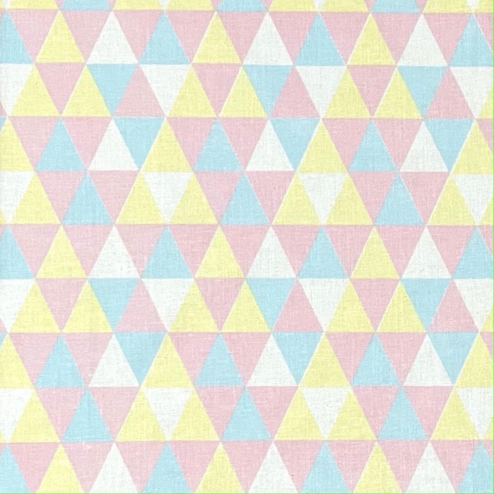 Tecido Tricoline Tutti Frutti Geométrico - 1,50m de Largura