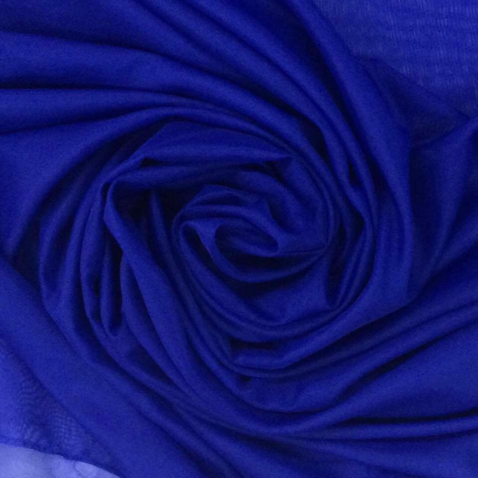 Tecido Voal Azul Royal 3m de Largura