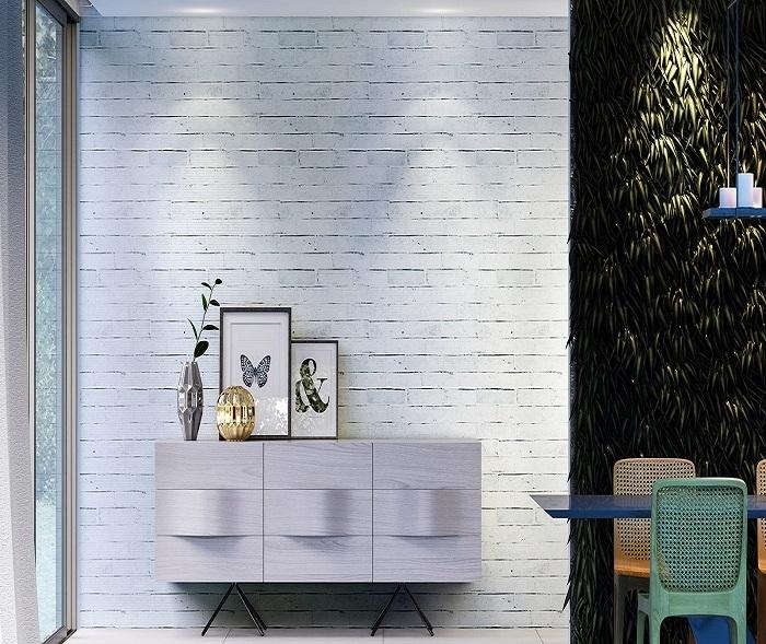 Tecido Karsten Wall Decor Brick Barroco 1.40m de Largura
