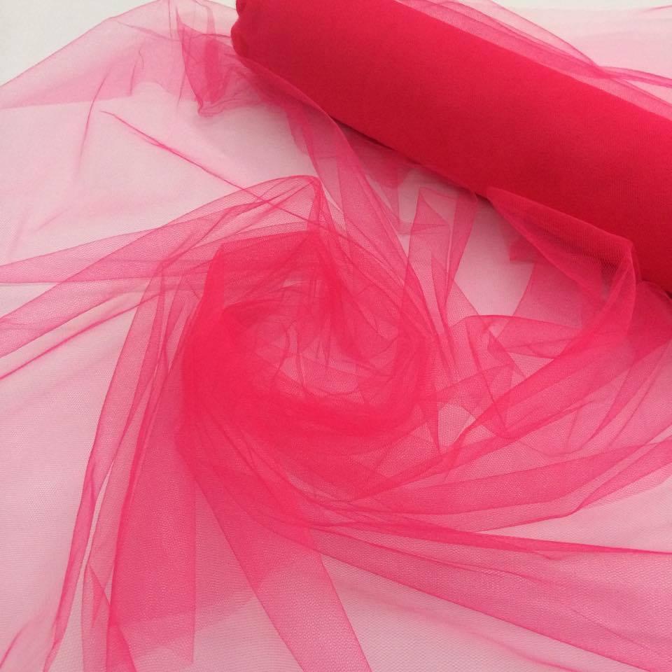 Tecido Tule Pink a Metro