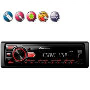 Auto Radio MVH-98UB 1 Din Usb Aux Fm Rca