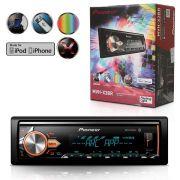 Auto Radio Pioneer Mvh-X3Br Bluetooth Mixtrax Usb 2 Rca