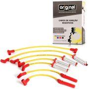 Cabo de Vela 10mm F1000 Injeção Eletronica 4.9 Amarelo E Vermelho