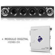 Caixa Corneteira Falcon Cxc-4x2 + Módulo Digital Hs980-dx