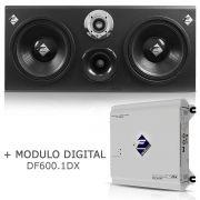 Caixa Dutada Cx12-td1-pn + Módulo Digital Df600.1dx Falcon