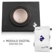 Caixa Dutada Falcon Cx8-pin + Módulo Digital Sw240 Dx Falcon