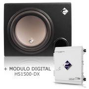 Caixa Dutada Falcon Cxp12-n + Módulo Digital Falcon Hs1500dx