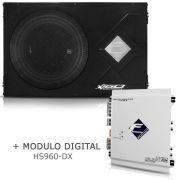 Caixa Selada X160-slim-2 + Módulo Digital Hs960 Dx Falcon