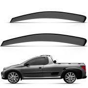 Calha Chuva Peugeot Pick-Up Hoggar 2 Portas 2010 2011 2012 2013