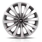 Calota Esportiva Aro 13 Passat Cc Sport Silver 4X100 4X108 5X100