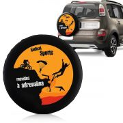 Capa Estepe Fox Ecosport Aircross Doblô Com Cadeado Adrenalina