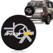 Capa Estepe Fox Ecosport Aircross Doblô Universal Com Cadeado Speedy
