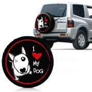 Capa Estepe Love Dog Pajero Full Prado T4