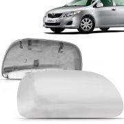 Capa Retrovisor Corolla 2008 2009 2010 2011 2012 2013 2014 Cromado