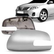 Capa Retrovisor Corolla 2008 2009 2010 2011 2012 2013 2014 Cromado Com Seta