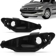 Carcaça Farol Peugeot 206 98 99 2000 Simples