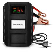 Carregador Bateria Digital Inteligente Portátil Automotivo e Moto 7A 12V