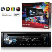 Cd Player Pioneer Deh-X1Br 1 Din Mixtrax Usb Mp3 Flashing Light