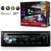 Cd Player Pioneer Deh-X5Br 1 Din Mixtrax Usb Mp3 Bluetooth Flashing Light
