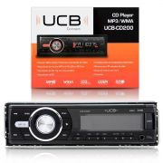 Cd Player Ucb-Cd200 Com Entrada Usb Sd Auxiliar
