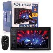 Central Multimídia Pósitron Sp8830Link Tv Digital Bluetooth Usb Sd Auxiliar